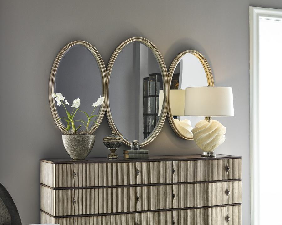 Maison Mirror shown with:Aged Medici finish