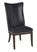 MaisonSide Chairshown with:Bombay finishSilver nailhead frame trim