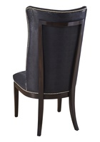 Maison Side Chair shown with:Bombay finishSilver nailhead frame trim