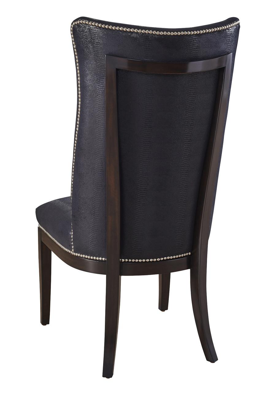 MaisonSide Chairshown with:Latte finishGunmetal nailhead frame trim