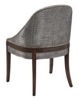 MaisonSide Chairshown with:Contemporary BriarfinishSamurai nailhead frame trim