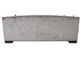 McKennaSofa shown with:Boxed bench seatPlinth base with BombayfinishSilver nailhead frame trim