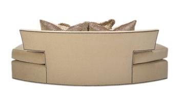 Memphis Sofa shown with:Boxed bench seatBuilt-to-the-floor baseGunmetal nailhead frame trim