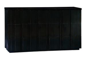 Malibu Dresser shown with:EbonyfinishEbony finishon plinth basePolished Shell Ravenontop