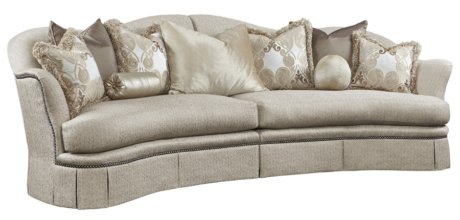 Charmant Maritza 2 Piece Sofa Shown With:Boxed Bench SeatDeep Skirt With Built In