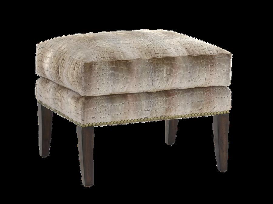Nelson Ottomanshown with:Semi-attached boxed seat cushionHavanafinishSamurainailhead frame trim