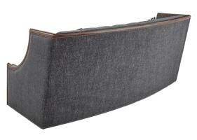 Nico Sofa shown with:Built-to-the-Floor baseContemporary Briar finishAged Medici finish trimGunmetal nailhead frame trim