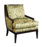 NolanChairshown with:Boxed seat cushionBombayfinishSilvernailhead frame trim