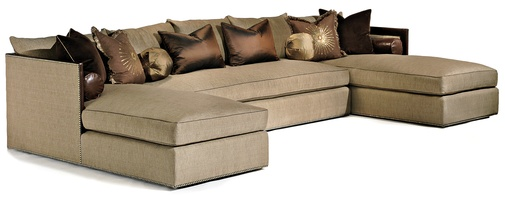 Olympia Sectional  sc 1 st  Marge Carson : tribeca sectional - Sectionals, Sofas & Couches