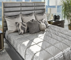 Shown on PAL11-1 Palo Alto Contemporary Bed