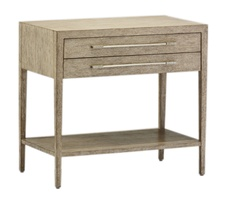 Palms Nightstand shown with:Dapple finishPolished Nickel hardware