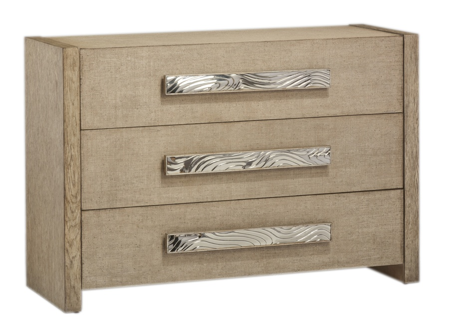 Palms Chest shown with:Dapple finishPolished Nickel hardware