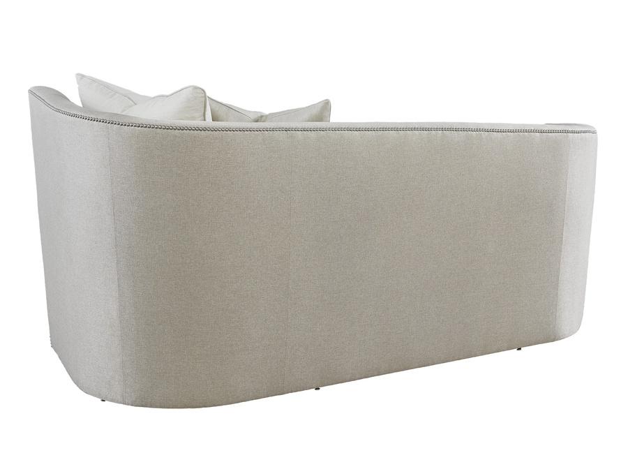 Soho Sofa shown with:Pewternailhead frame trim