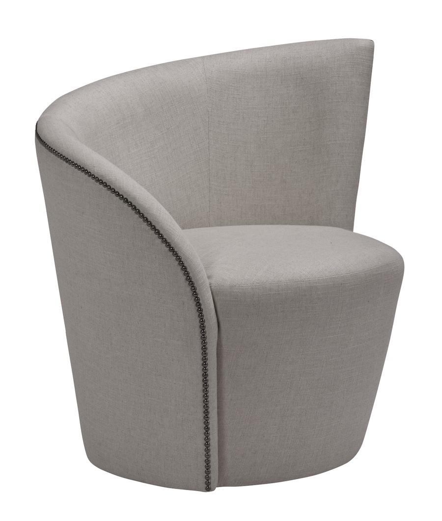 St. Moritz Chair shown with:Gunmetalnailhead frame trim
