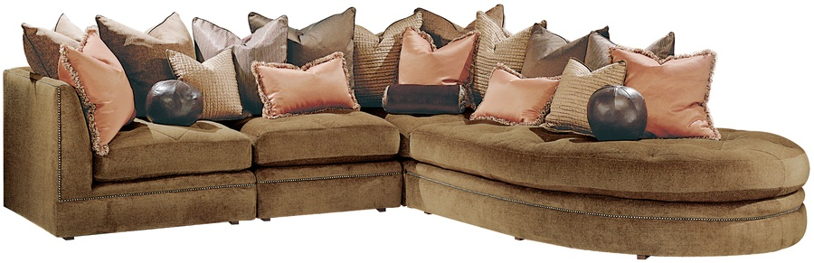 Tribecau0026nbsp;Sectional shown withBoxed bench seat with quiltedu0026nbsp;buttoned detailBuilt-to : tribeca sectional - Sectionals, Sofas & Couches