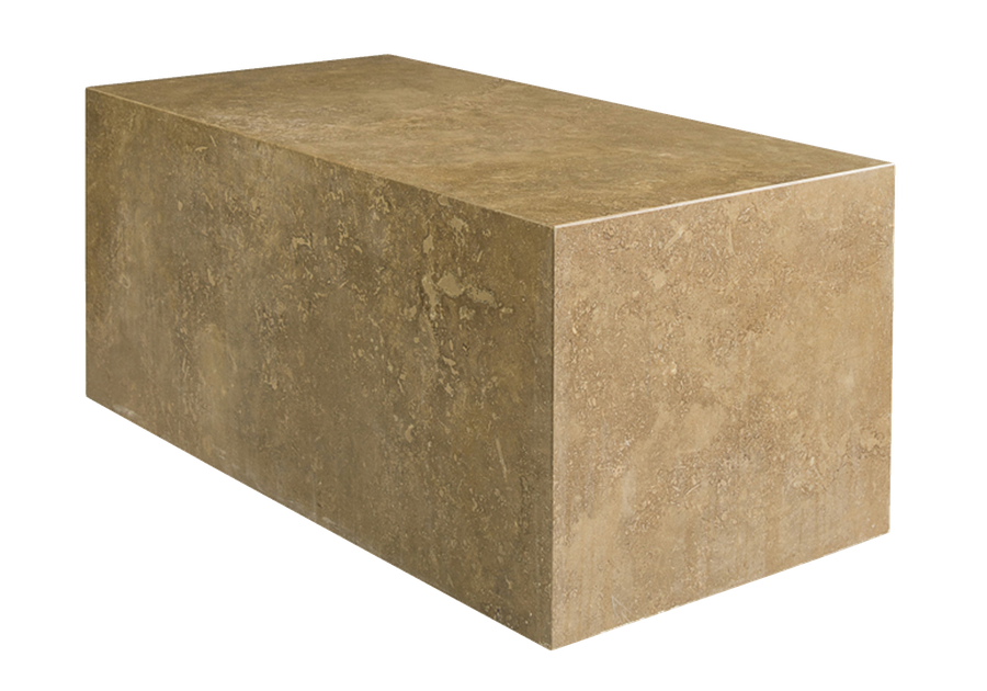 Vancouver End Table shown with:Noche Travertine finish