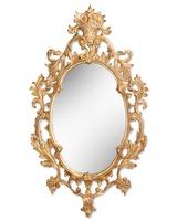 ViennaMirrorshown with:Venetian GoldfinishClear mirror