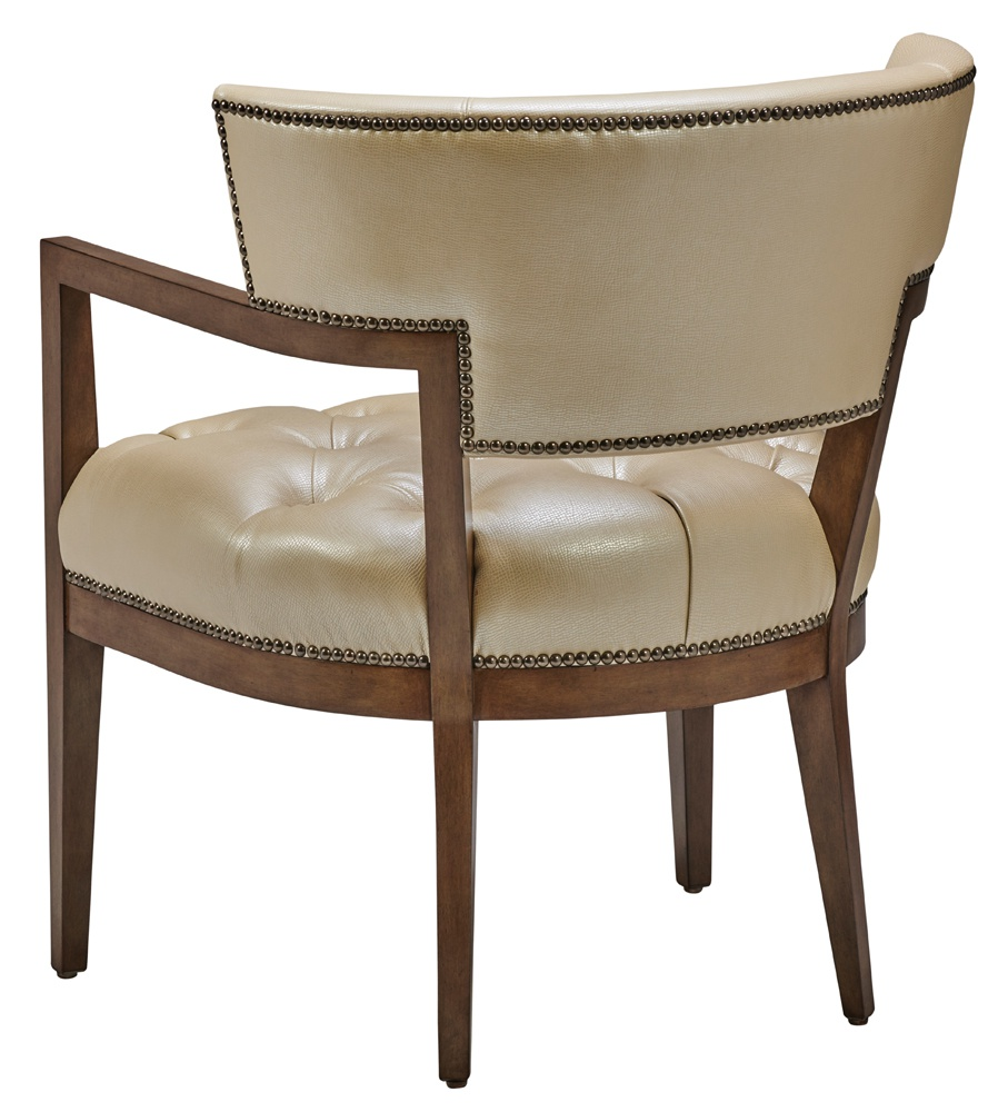 crescent chair back